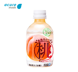 acure made 福島あかつき桃